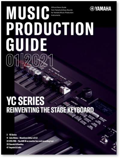 Now you can download the latest edition of the Music Production Guide.